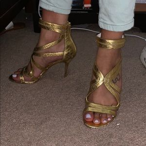 Michael Korda Gold Heels